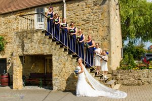 The Bride and her Bridesmaids, West Auckland Manor House