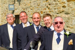 The Groomsmen, Wedding at the Manor House, West Auckland
