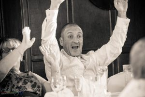 Best Man during the No 1 Singing Waiters, Manor House, County Durham