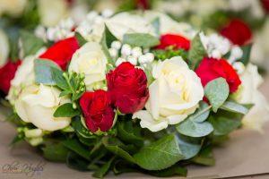Wedding Flowers Bouquet, Paul & Faye Wedding Barnard Castle, Evenwood