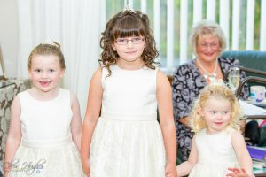 Flower Girls, Paul & Faye Wedding Barnard Castle, Evenwood
