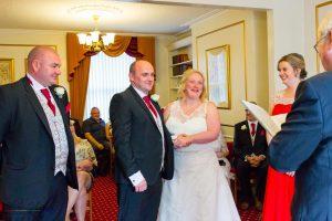 Ceremony, Paul & Faye Wedding Barnard Castle Registry Office