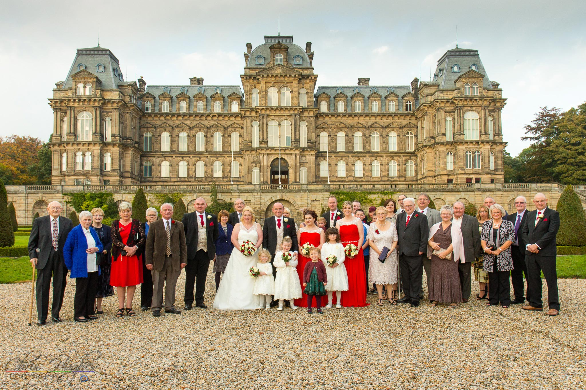 The Wedding Guests, Paul & Faye Wedding Barnard Castle Bowes Museum