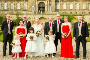 The Wedding Party, Paul & Faye Wedding Barnard Castle Bowes Museum