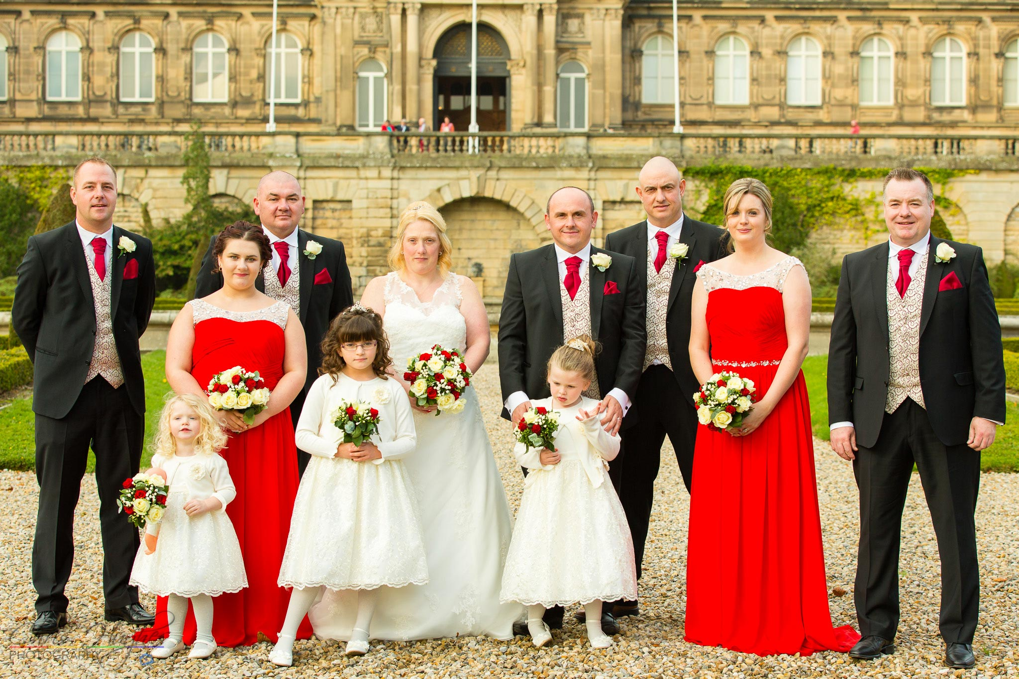 The Wedding Party, Paul & Faye Wedding Barnard Castle Bowes Museum