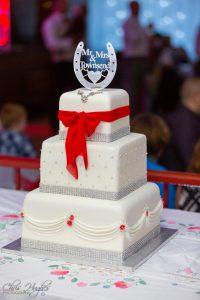 Wedding Cake, Paul & Faye Wedding Barnard Castle Registry Office