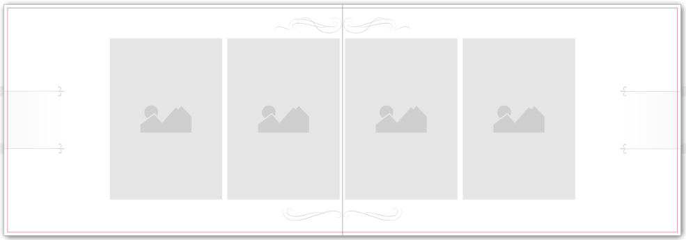 Photo Book Album - Wedding Range - Curlicues