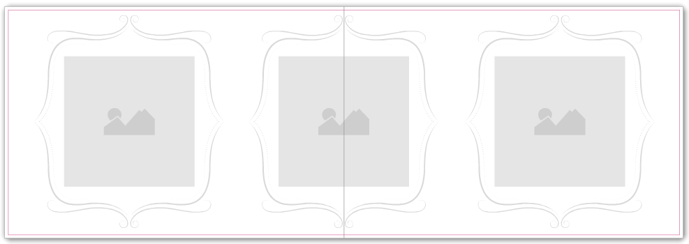 Photo Book Album - Wedding Range - Curlicues