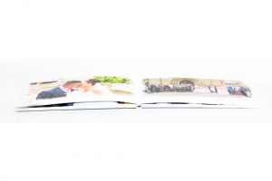 Photo Book Pro Fold Flat pages