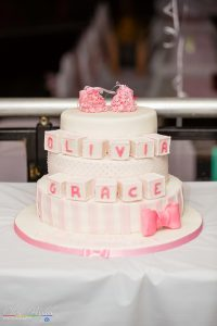 Olivia Christening Cake Photography Bishop Auckland