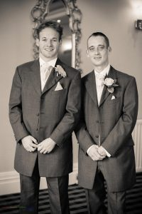 Groom & Best Man, Wedding Photography Bishop Auckland