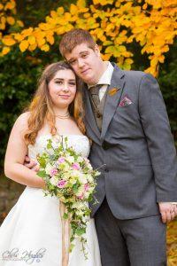 Bride & Groom Wedding Photography Bishop Auckland, Durham