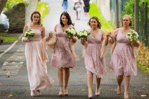 Bridesmaids, Wedding Photography Bishop Auckland, Durham