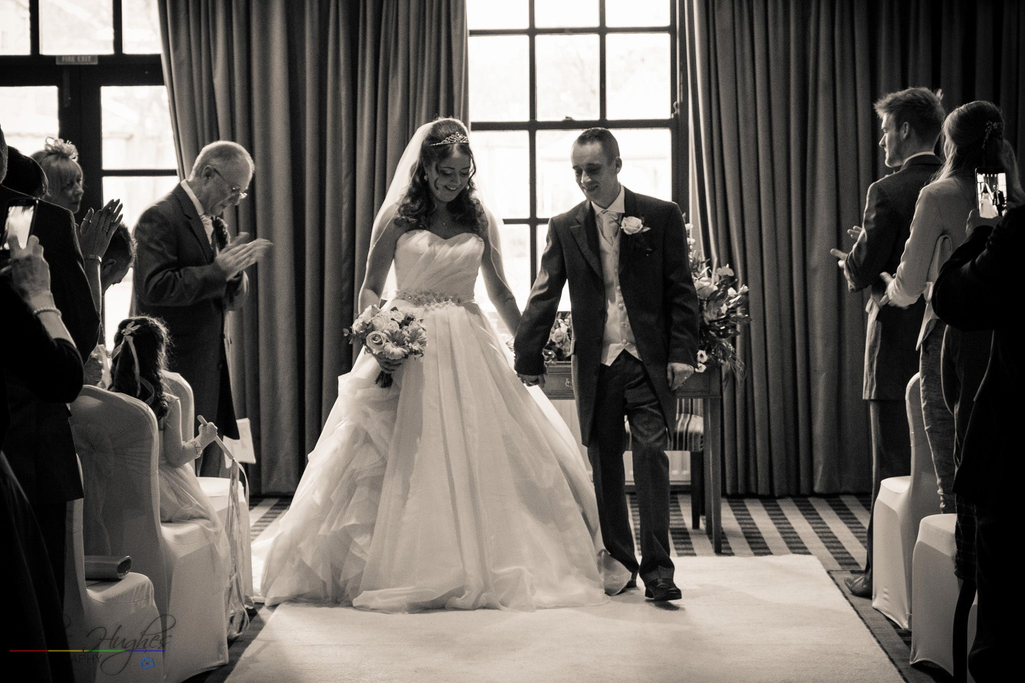 Just Married by Chris Hughes Photography