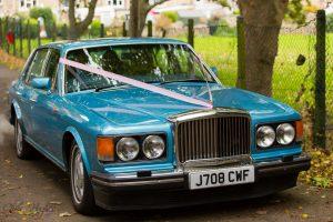 The Wedding Car, Wedding Photography Bishop Auckland, Durham