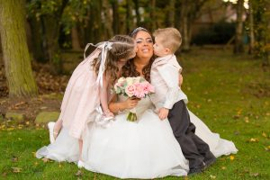 The Bride & Children, Bishop Auckland Photography
