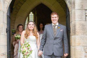 Bride & Groom Newly Married, Wedding Photography Bishop Auckland, Durham