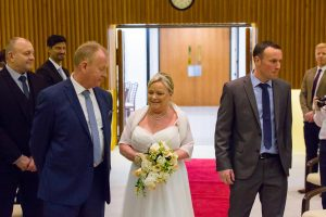 John & Heather Ceremony - Darlington Registry Office