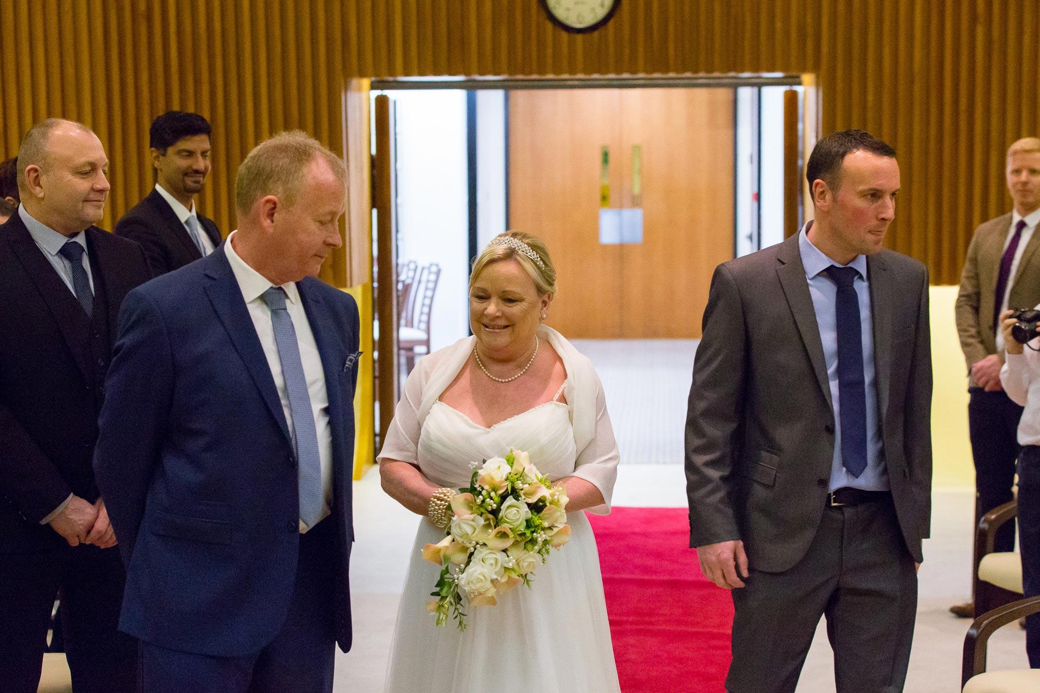John & Heather Ceremony - Darlington Registry Office