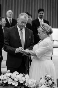 John & Heather Exchange of Rings - Darlington Registry Office