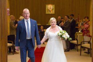 John & Heather Just Married - Darlington Registry Office