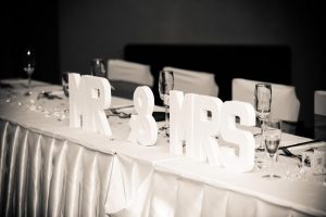Wedding Table Decorations - Woodham Golf Club