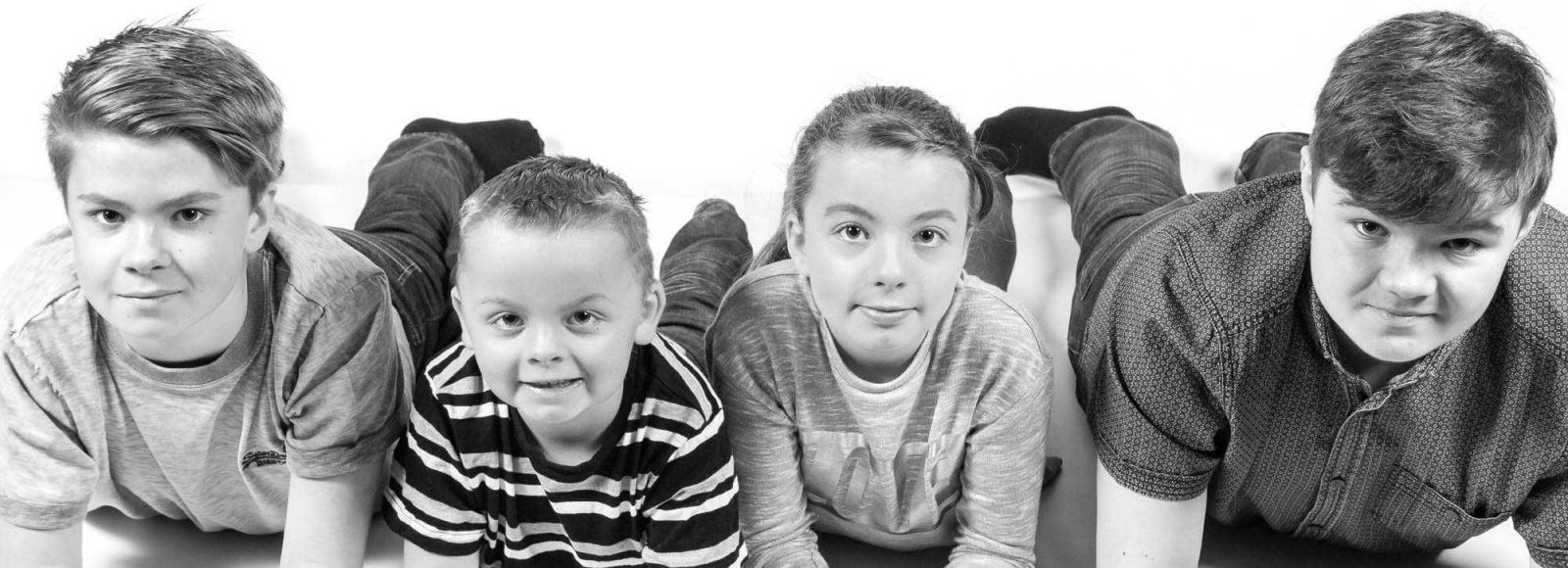 Family Photo Shoot, County Durham Block3bw