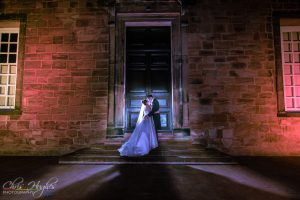 Jason&Steph- Lumley Castle Wedding Photography, Night Durham